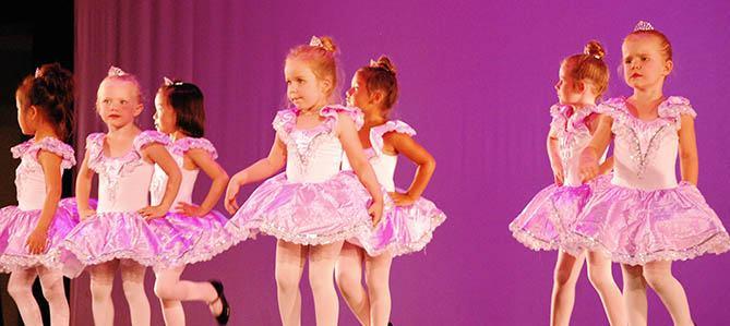 OC Dance Productions, tiny dancers