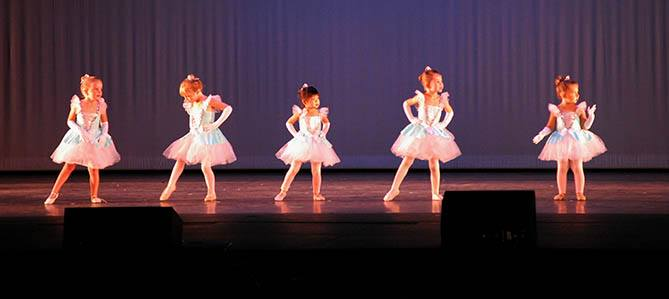 OC Dance Productions, tiny princess dancers