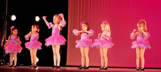 OC Dance Productions tap princess recital