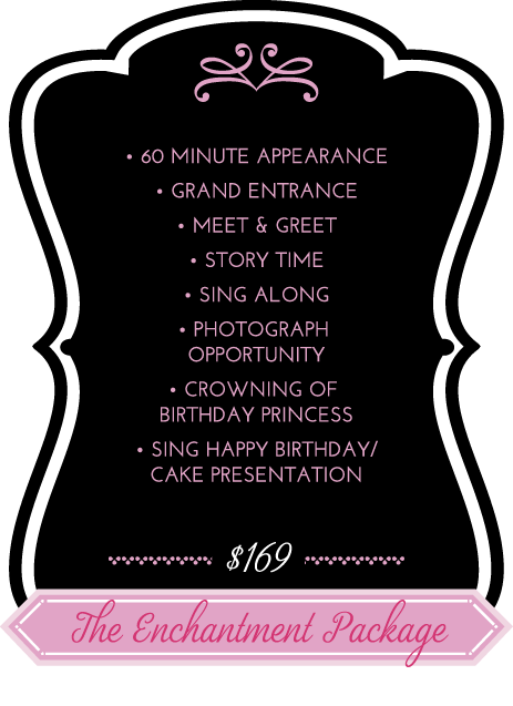 OC Princess Party Enchantment Package