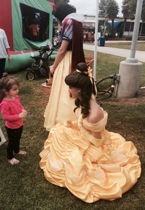 Our princesses at a local event in OC