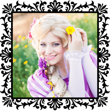 Princess Rapunzel. OC Princess Parties