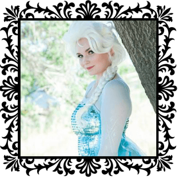 Elsa. Snow Queen. OC Princess Parties