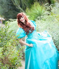 Ariel loves to go to birthday parties and events in OC!