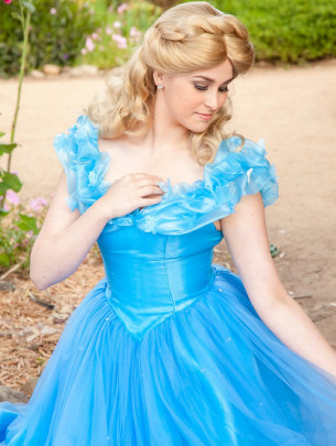 Ella themed kids party entertainment. Princess parties in Orange County