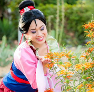 Mulan. Kids party entertainment in OC
