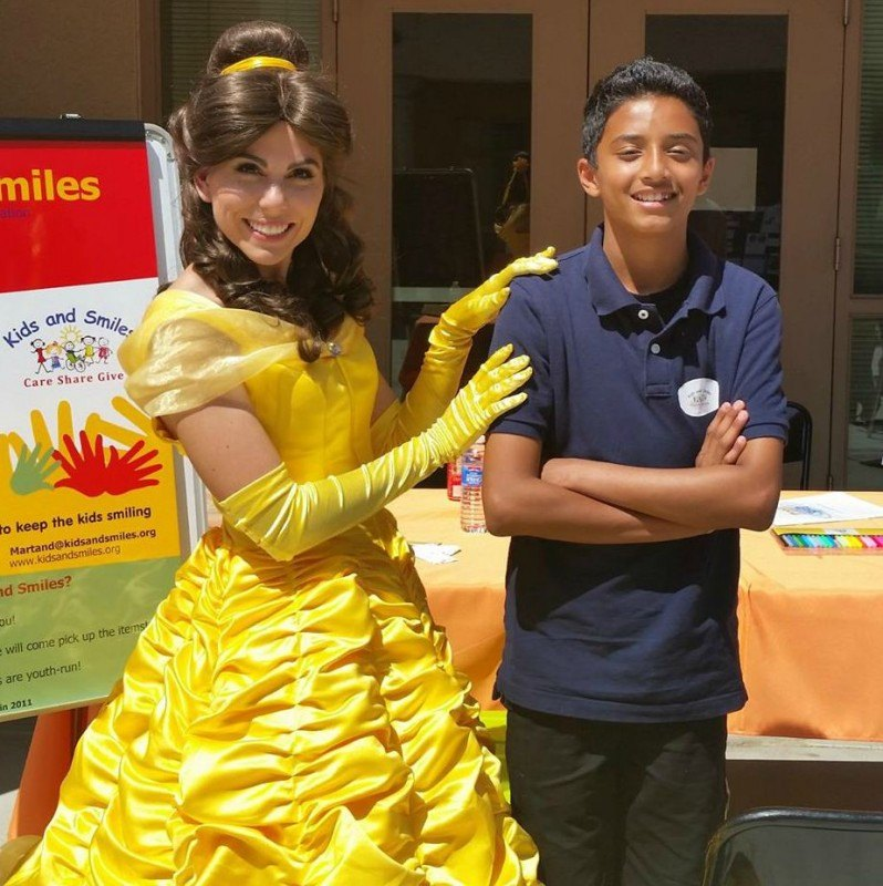 Ripple Kids Beauty princess. Kindness event