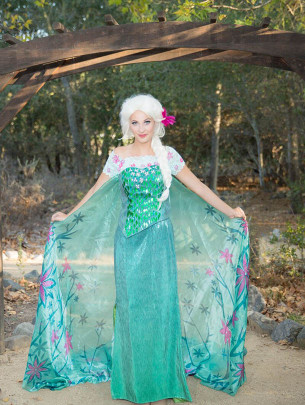Spring Queen - Kids party entertainment. Parties and events, LA
