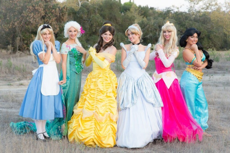 Our Princesses are ready for your kids party