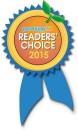 We won a reader's choice award!
