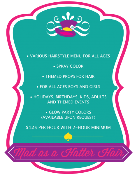 Mad Hatter Hair Party REV1