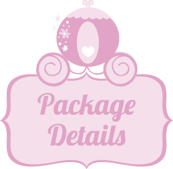 See our Orange County princess party package details