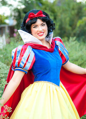 Snow White princess kids party entertainment