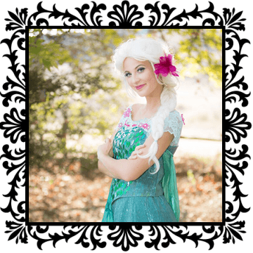 Spring Queen - Kids party entertainment. Princess dress up party, OC