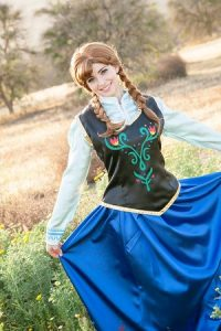 Frozen kids princess party entertainment in Orange County