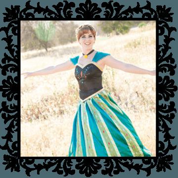 Anna, our Frozen coronation princess