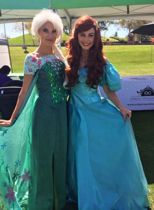 Frozen disney princess kids party entertainment