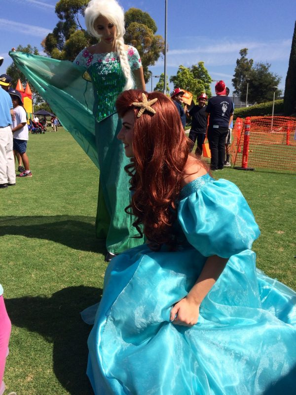 Our princesses enjoying the sunshine at a local event in OC