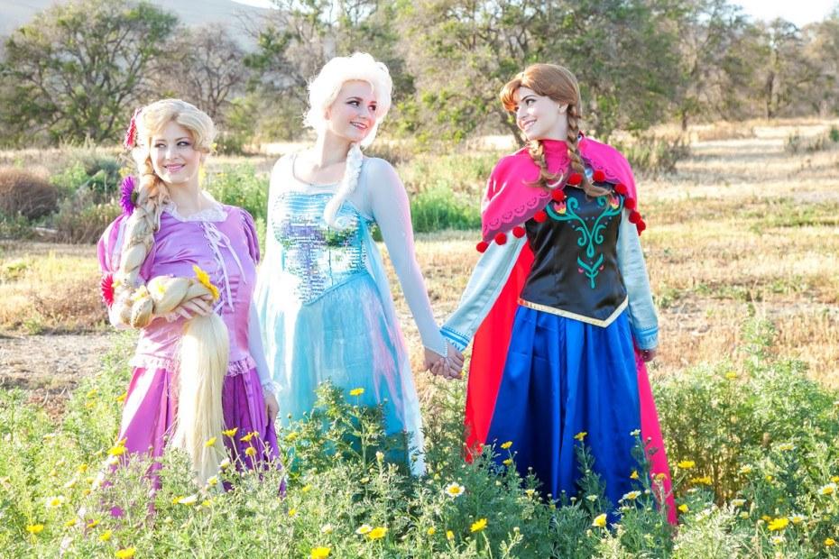 Best friends, best princesses. OC kids party entertainment