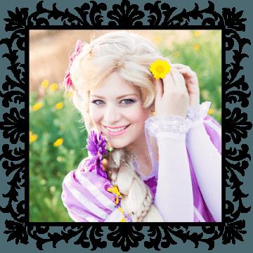 Princess Rapunzel. OC Princess Parties
