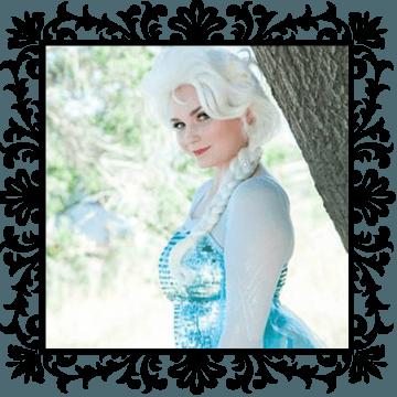 Elsa. Snow Queen. OC Princess Parties