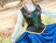 Ever After Princess Events, Orange County. Princess Anna from Frozen.