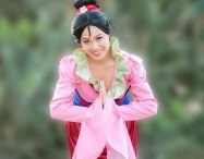 Mulan. Kids princess party entertainment in OC