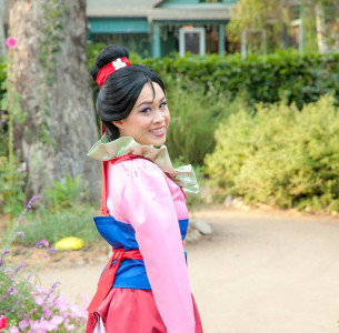 Mulan. Kids party entertainment in Orange County