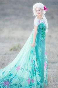 Spring Queen - Kids party entertainment. Princess dress up party, Orange County