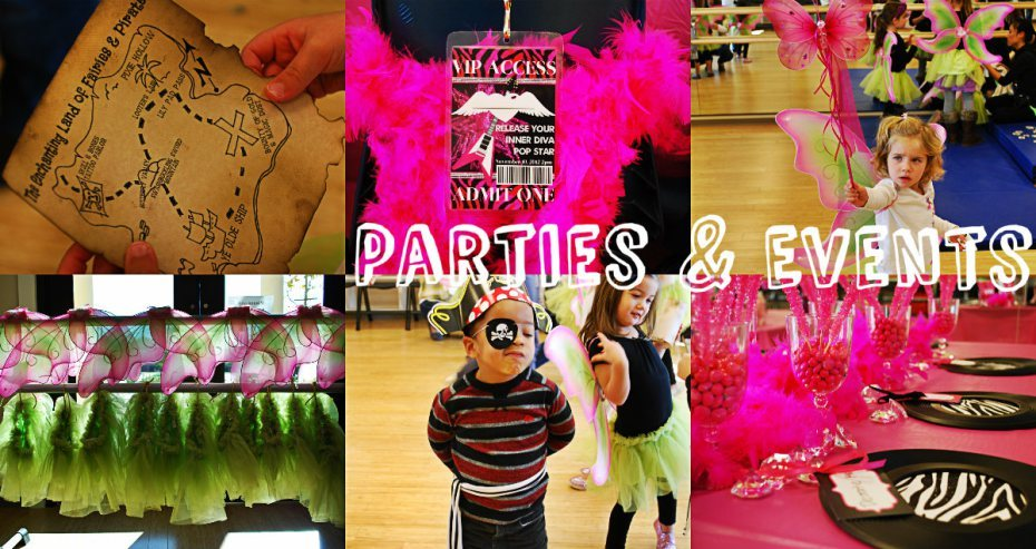 kids party planning and events in OC